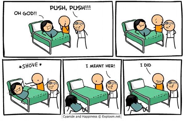 pregnant-push